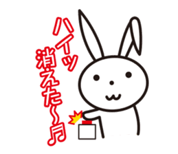 Angry Bunny sticker #2063406