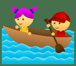 Cute Girl & Boy stickers sticker #2072843