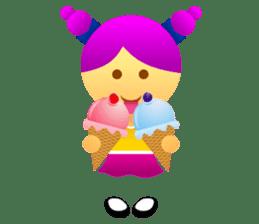 Cute Girl & Boy stickers sticker #2072847