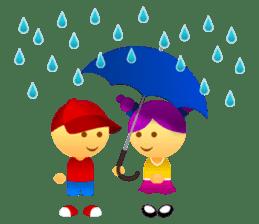 Cute Girl & Boy stickers sticker #2072850