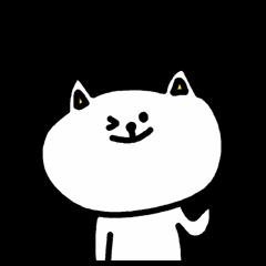A cat speak the Ibaraki dialect
