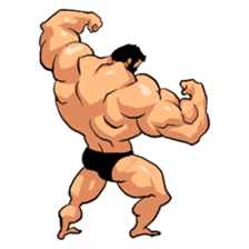 Super Muscle Man 2 sticker #4092321