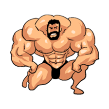 Super Muscle Man 2 sticker #4092322