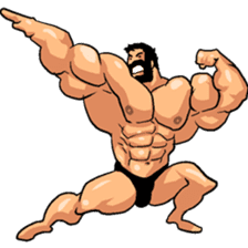 Super Muscle Man 2 sticker #4092323
