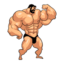 Super Muscle Man 2 sticker #4092326