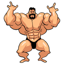 Super Muscle Man 2 sticker #4092327