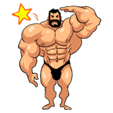 Super Muscle Man 2 sticker #4092328