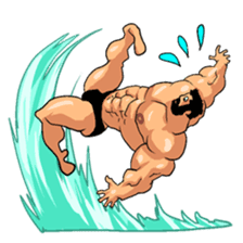 Super Muscle Man 2 sticker #4092331