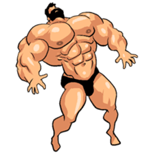 Super Muscle Man 2 sticker #4092332