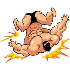Super Muscle Man 2 sticker #4092333