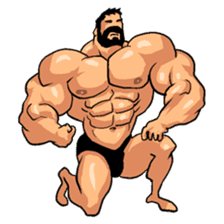 Super Muscle Man 2 sticker #4092335