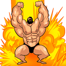 Super Muscle Man 2 sticker #4092336