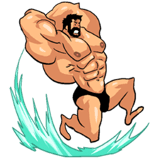 Super Muscle Man 2 sticker #4092337