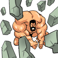 Super Muscle Man 2 sticker #4092338