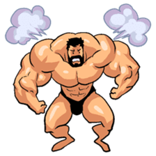 Super Muscle Man 2 sticker #4092339