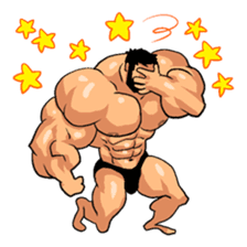 Super Muscle Man 2 sticker #4092340