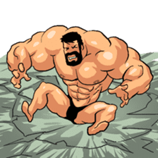 Super Muscle Man 2 sticker #4092342