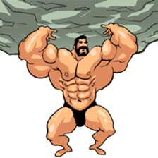 Super Muscle Man 2 sticker #4092343