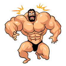 Super Muscle Man 2 sticker #4092346