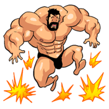 Super Muscle Man 2 sticker #4092348