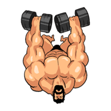 Super Muscle Man 2 sticker #4092355