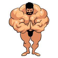 Super Muscle Man 2 sticker #4092357