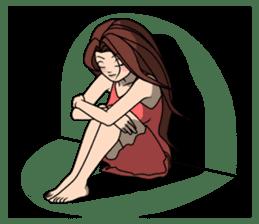 Annie's life diary II sticker #4363989