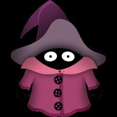 Cute Little Wizard stickers