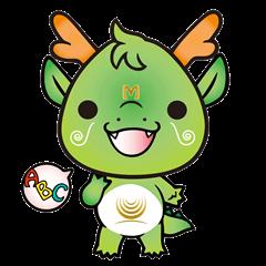 mandariQ English and Japanese Sticker2