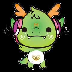 mandariQ English and Japanese Sticker1