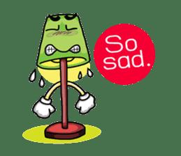 Say something (English) sticker #4605473