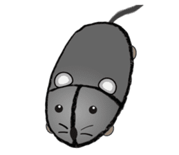 """I began the breeding of """"Mouse"""". sticker #4800360"""