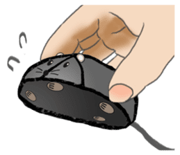 """I began the breeding of """"Mouse"""". sticker #4800361"""