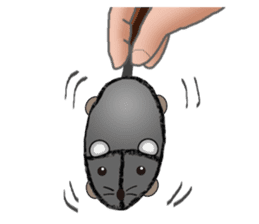 """I began the breeding of """"Mouse"""". sticker #4800363"""