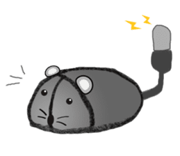 """I began the breeding of """"Mouse"""". sticker #4800370"""
