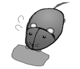 """I began the breeding of """"Mouse"""". sticker #4800374"""