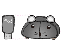 """I began the breeding of """"Mouse"""". sticker #4800384"""