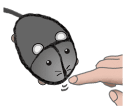 """I began the breeding of """"Mouse"""". sticker #4800386"""