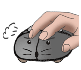 """I began the breeding of """"Mouse"""". sticker #4800389"""