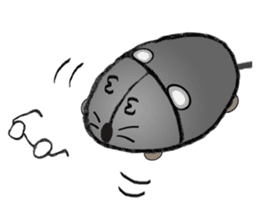 """I began the breeding of """"Mouse"""". sticker #4800390"""