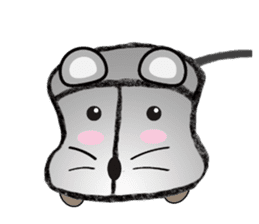 """I began the breeding of """"Mouse"""". sticker #4800392"""