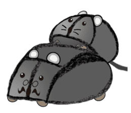 """I began the breeding of """"Mouse"""". sticker #4800393"""