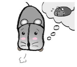 """I began the breeding of """"Mouse"""". sticker #4800397"""