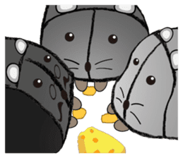 """I began the breeding of """"Mouse"""". sticker #4800399"""