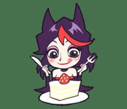 Vampire Lili sticker #5144263