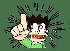 Doraemon's Many Emotions sticker #19966