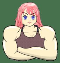 Beautiful Muscle Girl sticker #5932220