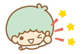 Little Twin Stars(Twinkle Days ver.) sticker #20020