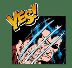 X-MEN Wolverine sticker #20071