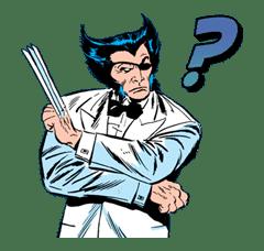 X-MEN Wolverine sticker #20073